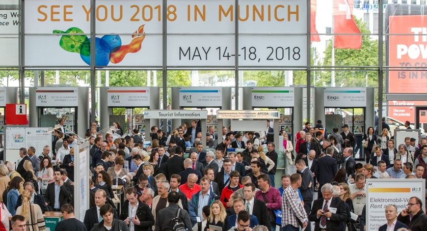 IFAT 2016 Messe Muenchen